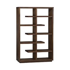 "$1500 - Elevate Walnut 68"" Bookcase"