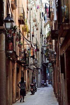 Old Barcelona, Spain