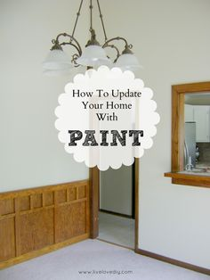 The ONE easy way to update older homes! Makes such a huge difference!