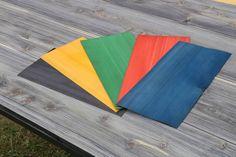 Dyed Hinoki Cypress Veneers