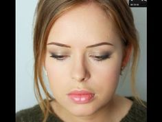 Tanya Burr does great makeup tutorials on youtube. Love this one because the look is so simple and lovely :)