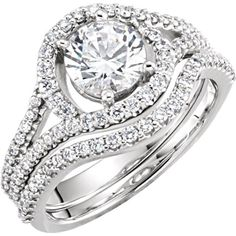 SEMI MOUNT ENGAGEMENT RING | Moijey Fine Jewelry and Diamonds