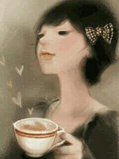 Coffee love art #coffeeArt