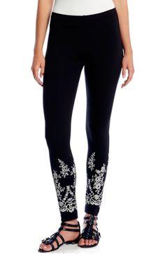 Karen Kane Lace Print Leggings