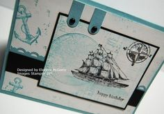 Also using The Open Sea stamp set by Stampin' Up
