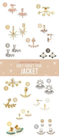 If you're shopping for a best friend or sister we have the perfect gift on any budget! Ear jackets for everyoneeee!
