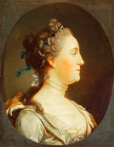 Portrait of Catherine II in Profile, Hermitage.