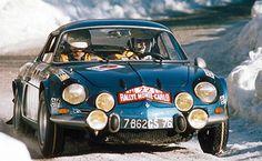 Renault Alpine A110 1600S Rally Montecarlo 1971