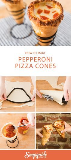 This pizza cone recipe is GENIUS.
