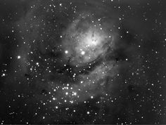 The Lagoon Nebula taken QHY 163M  on a C11 at F5