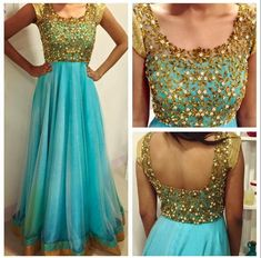 Long customized Anarkalis | Buy online designer Salwars | Elegant Fashion Wear