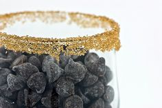 Gold cocktail rim sugar - in bulk - by Dell Cove Spice Co. (Photo by Crystal Gayle Photography)