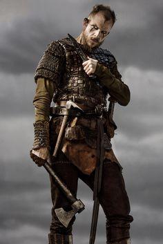Floki on The Vikings, played by Gustaf Skarsgard.