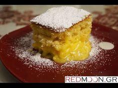 Κέικ με κρέμα λεμονιού (Cake with lemon cream english subtitles) - YouTube