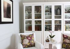 Love the curiosity cabinets - this is what i have been attempting in my lounge!