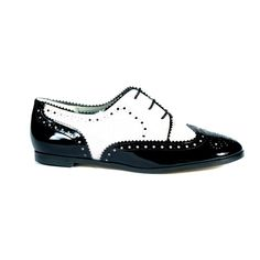 albi lace up - Albi - Black & white faux patent - NEW COLLECTION - Vegan Shoes, Vegetarian Shoes, Ethical and Stylish Footwear - Beyond Skin