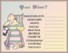 baby shower on pinterest baby showers juego para baby shower and