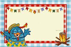 Kit Festa junina com a Galinha Pintadinha
