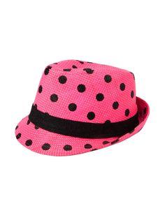 Polka Dot Fedora Hat | Fashion Hats | Fashion Hats & Scarves | Shop Justice