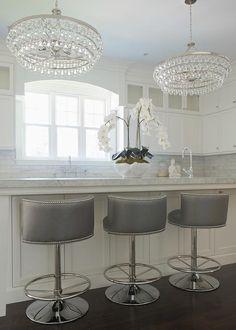 Decor, Kitchen Bar, Home, Luxury Kitchens, Kitchen Remodel, Kitchen Decor, Elegant Kitchens, Home Kitchens, Kitchen Stools