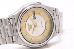 Vintage Seiko 5 Automatic Day-Date 17-Jewels Men's Wrist Watch GS-111