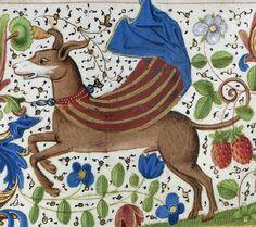 Superdog, Froissart's Chronicles, Bruges ca. 1470-1475 (Paris, BnF, Français 2643, fol. 312v) @GallicaBnF