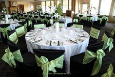 Beautiful Wedding Colour combination done at The Yacht Club. http://www.weddingshows.com