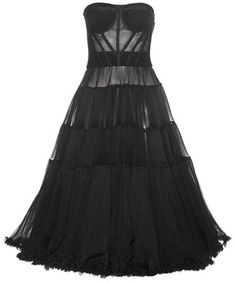 Dolce & Gabbana Net And Tulle Dress