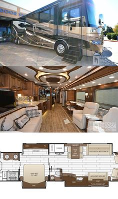 New 2018 Newmar Essex Luxury Campers, Luxury Motorhomes, Luxury Van, Luxury Life, 6x6 Truck, Trucks, Luxury Rv Living, Horse Transport, Private Jet Interior