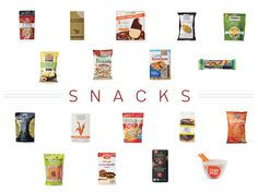 100 Cleanest Packaged Food Awards 2014: Snacks (not all are vegan, but some good ones are listed!)