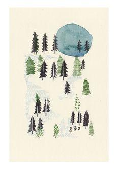 Nigel Peake & Shea'la Finch's This Kind Wilderness via Subtle Circle