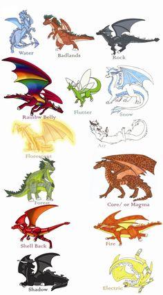 My Dragon Species by DragonsFlameMagic