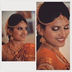 South Indian Bridal Look.....
