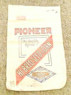 Pioneer Hi-Bred Sample Sack 9x14
