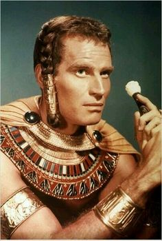 Charlton Heston The Ten Commandments 1956