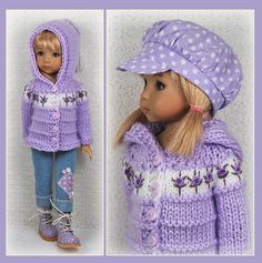 OOAK Lilac White Outfit from maggie_kate_create ends 8/15/14. SOLD for $137.50.