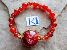 Carnelian Orgone Bracelet EcoPoxy® Eco Friendly Resin Abundance and Creativity Carnelian, Anklets, Abundance, Eco Friendly, Resin, Creativity, Buy And Sell, Crystals, Bracelets