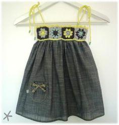crochet top dress