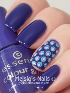 Essence - colour Passion for Fashion + dots over dots #DIYNailDesigns