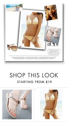"""Summer beach"" by mala-653 ❤ liked on Polyvore"
