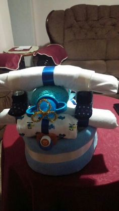 Airplane Diper Cake