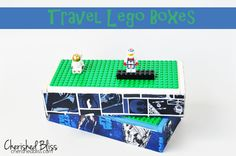 Travel Lego Box. DIY.