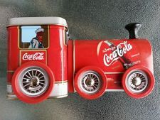 Coca-Cola Vintage Train Collectable Tin