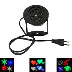 Projektor laserowy Lampy LED Światła Etapie Śnieg latające Christmas Party Krajobraz Światła Lampy Ogrodowe Oświetlenie Zewnętrzne Commercial Lighting, Led