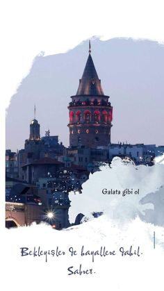 GALATA KULESİ Iphone Wallpaper Fall, I Wallpaper, Galaxy Wallpaper, Istanbul Travel, Instagram Story Ideas, Istanbul Turkey, Book Quotes, Places To Travel, Photo And Video