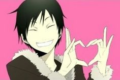 Izaya - Durarara!!  Christmas is coming yay!! Marry Christmas love ya guys and girls!!