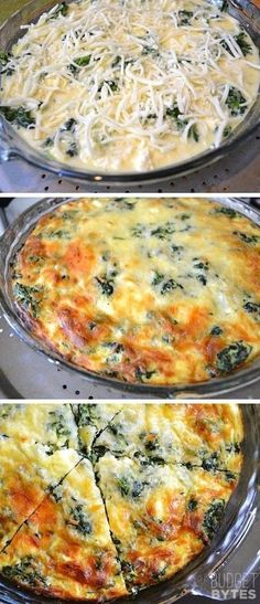 Mushroom and Feta Crustless Quiche Spinach, Mushroom & Feta Cruststless Quiche Recipe - More Healthy ! Going to try with egg whites!Spinach, Mushroom & Feta Cruststless Quiche Recipe - More Healthy ! Going to try with egg whites! Low Carb Recipes, Vegetarian Recipes, Cooking Recipes, Low Carb Vegitarian Recipes, Vegetarian Egg Casserole, Spinach Egg Casserole, Banting Recipes, Pescatarian Recipes, Whole30 Recipes