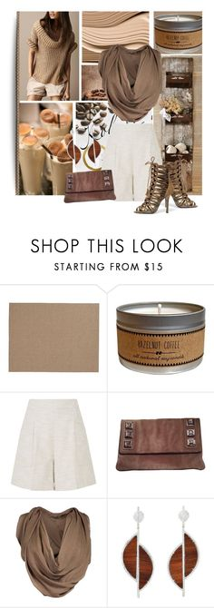 """""""Pantone Color: Butternut"""" by lavendergal ❤ liked on Polyvore featuring Pottery Barn, L.K.Bennett, Emilio Pucci, Giuseppe Zanotti and Maison Margiela"""
