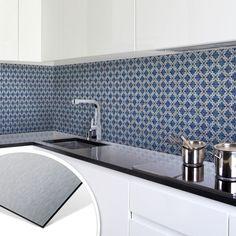 k chenr ckwand alu dibond silber mauer 05 in 2018 k chenr ckwand pinterest. Black Bedroom Furniture Sets. Home Design Ideas