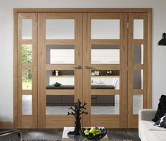 Oak Shaker 4L Room Divider #roomdividers